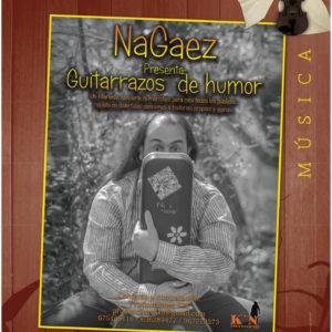2.Guitarrazos de humor (NaGaez) (Sábado, 12/10/2019 – 19:00) – 3€