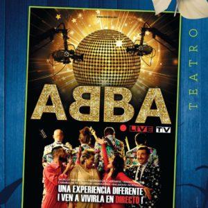 4.Abba Live Tv (Sábado, 11/04/2020 – 19:00) – 10€